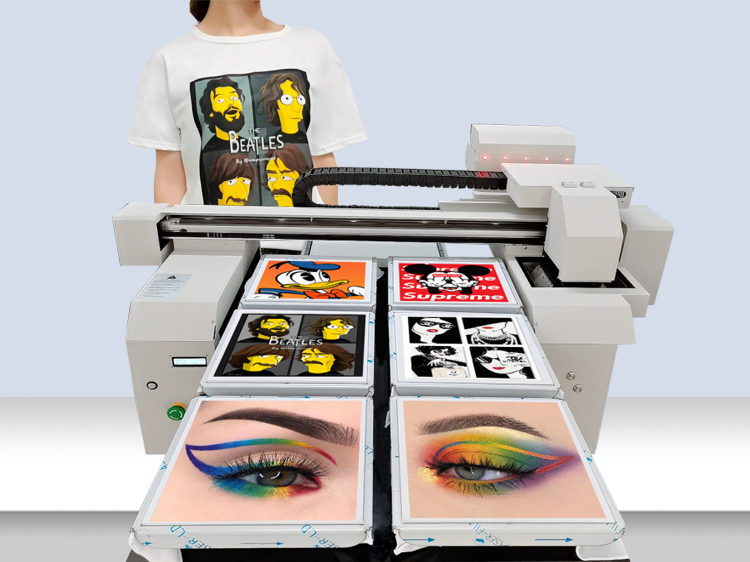 6 pcs tshirt printing DTG printer