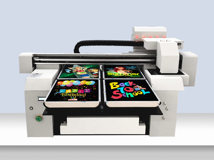 A1 Factory Using Big Size 6590 Double or 4 or 6 Printing Station T-shirt Printing Machine