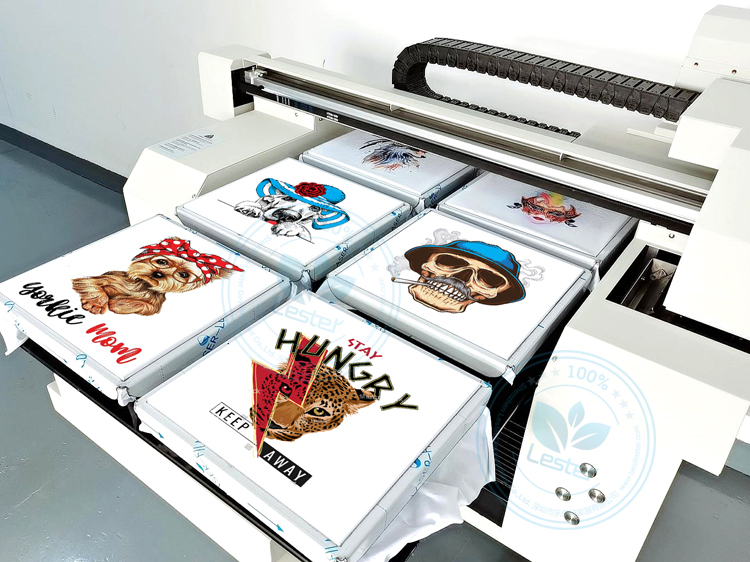 tshirt printer 6 pcs of tshirt printing at one time