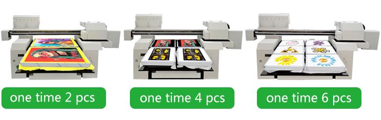 A1 size multicolor DTG t-shirt printers