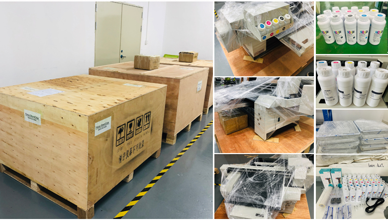 printer packing and shipping