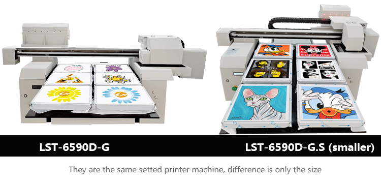 A1 size DTG t-shirt printing machine