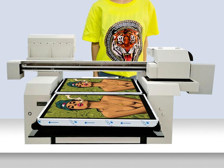 A1 t-shirt printing machine