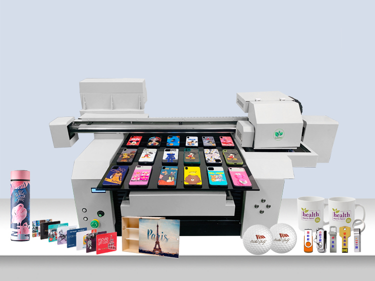 A1 6560 6090 6590 Ad Store and Factory Using 2 or 3 Heads Wide Format Gift Items Printing Machine UV Printer