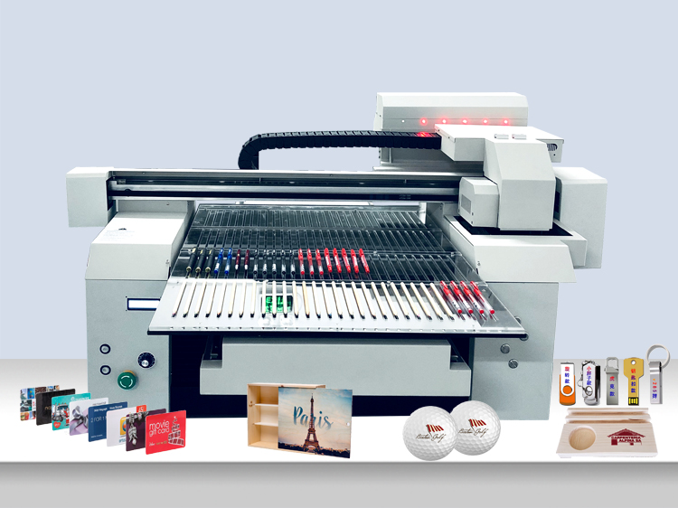 A1 6590 Factory Using 2 or 3 Print Heads Wide Format UV Flatbed Printer Machine with Varnish Printing